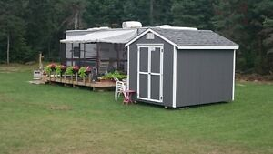 BRING YOUR BATHING SUITS AND BEER - 2-BEDROOM TRAILER