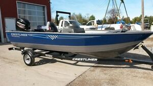 2016 Crestliner 1650 Discovery Side Console London Ontario image 1