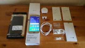 Unlocked Samsung S6 Gold Platinum Edition
