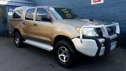 2005 Toyota Hilux KUN26R SR (4x4) Bronze 5 Speed Manual Dual Cab Pick-up Hobart CBD Hobart City Preview