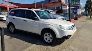 2011 Subaru Forester S3 MY11 X AWD White 4 Speed Sports Automatic Wagon Lidcombe Auburn Area Preview
