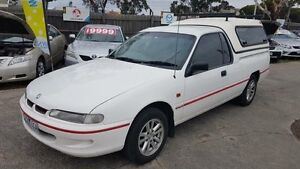1994 Holden Commodore VRII White 4 Speed Automatic Utility Maidstone Maribyrnong Area Preview