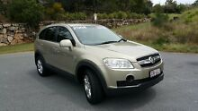 2008 Holden Captiva CG SX Gold 5 Speed Automatic Wagon Nerang Gold Coast West Preview