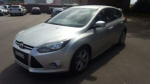 2013 Ford Focus LW MK2 Sport Silver 6 Speed Automatic Hatchback Georgetown Newcastle Area Preview