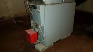 Brock MBP1-A Forced Air Furnace with Riello Burner $750 OBO