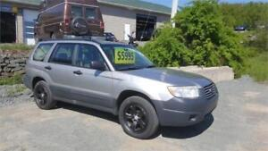 FINANCING AVAIL! FORESTER AWD, WARRANTY INCLUDED! INSPECTED