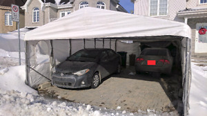 Car Shelter - Tempo 28'x16' for sale