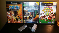 Game Cube Game Bundle Plus Wireless Controller Parts