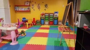 Daycare available immediately or SEPTEMBER 2017 CHATEAUGUAY