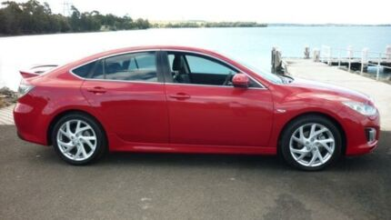 2009 Mazda 6 GH Luxury Sports Red 6 Speed Manual Hatchback Dapto Wollongong Area Preview