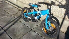 Scott Voltage 16 boys bike for age 3-5 year old