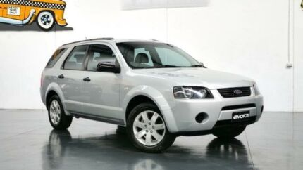 2009 Ford Territory SY TX Silver Sports Automatic Wagon Williamstown North Hobsons Bay Area Preview