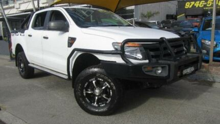 2011 Ford Ranger PX XL 3.2 (4x4) White 6 Speed Automatic Dual Cab Utility