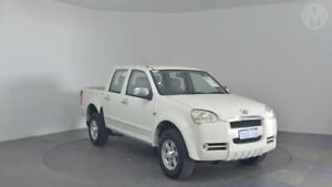 2009 Great Wall V240 K2 (4x2) White 5 Speed Manual Dual Cab Utility Perth Airport Belmont Area Preview