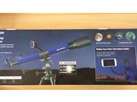 Bresser Skylux High PerformanceTelescope 70/700 with Smartphone holder &software