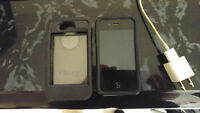 iPhone 4S, 16GB, With 2 Otter Boxes, Mint!