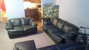 Luxury Leather Couches [Package Deal]