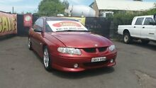 2000 Holden Commodore VX S Red Mica 4 Speed Automatic Sedan Campbelltown Campbelltown Area Preview
