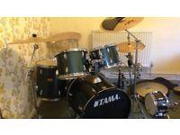 Tama / Zildjan Drum Kit for Sale