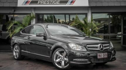 2011 Mercedes-Benz C250 W204 MY11 CDI BE Black 7 Speed Automatic G-Tronic Coupe Bowen Hills Brisbane North East Preview