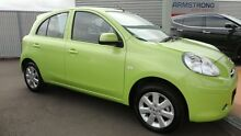 2013 Nissan Micra K13 MY13 ST-L Glasgow Green 5 Speed Manual Hatchback Toowoomba Toowoomba City Preview