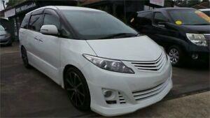 2010 Toyota Estima GSR50 MYO10 AERAS AERAS White 6 Speed Automatic Greenacre Bankstown Area Preview