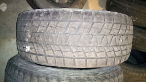 One Bridgestone Blizzak 285/60R18 , $20
