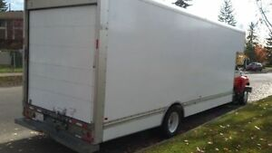 Cube Truck - 26ft Cube Van  - GMC C-6500 - FOR SALE