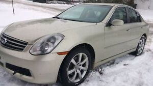 2005 Infiniti G35x Luxury Sedan Beige AWD