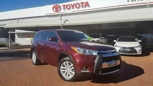 2014 Toyota Kluger GSU50R GX (4x2) Deep Red 6 Speed Automatic Wagon Dubbo Dubbo Area Preview
