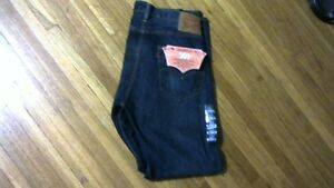 Mens Levi Strauss 501 Button Fly Jeans size 34X30& 34X32 [new]