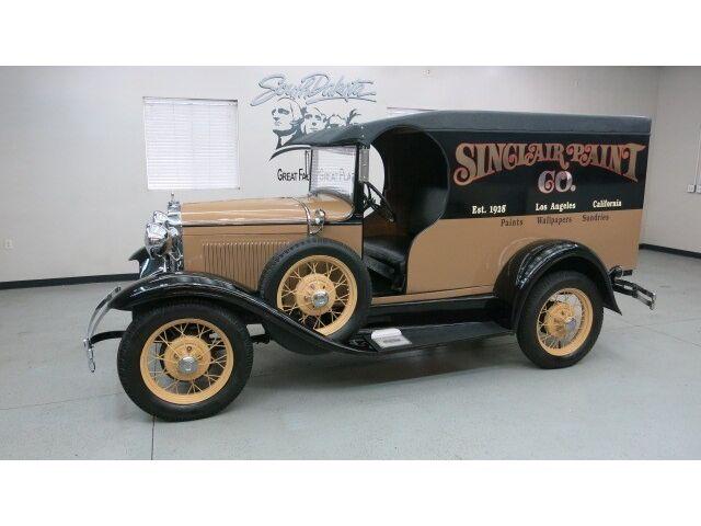 Ford : Model A C-Cab Dlvry 1930 ford model a c cab truck tan black two tone finish has 2.0 4 cyl auto