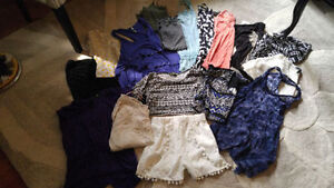 Bunch of clothes size small