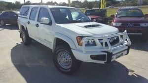 2009 Holden Colorado RC MY09 LX Crew Cab White 5 Speed Manual Utility Buderim Maroochydore Area Preview