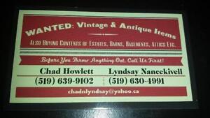 BUYING Contents of Estates/Barns/Attics/Basements-Anything Old! London Ontario image 1