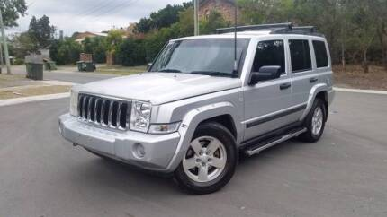 7 seat Jeep Commander Wagon- tow a horse float!