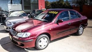2000 Nissan Pulsar N16 LX Burgundy 4 Speed Automatic Sedan Fyshwick South Canberra Preview