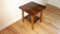 Solid Wood Side Table ( FREE DELIVERY!) Quick Responses!
