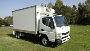 2016 Fuso Canter 515 Wide White Refrigerated Truck Rocklea Brisbane South West Preview