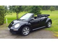 VOLKSWAGEN BEETLE 1.6 LUNA FREE MOT FOR LIFE and WARRANTY!! (black) 2008