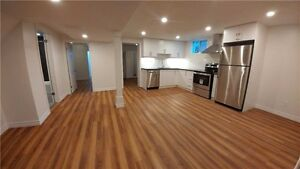 Tastefully Renovated 2Bed+Den Basement Apartment Oshawa For Rent