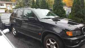 Bmw X5 2003 3.0 **Owned by woman** winter tires