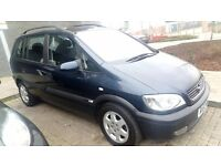 2003 VAUXHALL ZAFIRA 1.8 AUTOMATIC 7 SEATER VERY GOOD CONDITION DRIVE LIKE NEW CAR LONG MOT