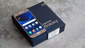 Sumsung Galaxy 7 Gold - 32gig & Otter box - Like new