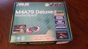 Asus Motherboard with Quad Core CPU and 8GB of Memory
