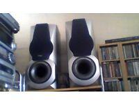 Aiwa built-in 220mm subwoofer 4 way speaker system