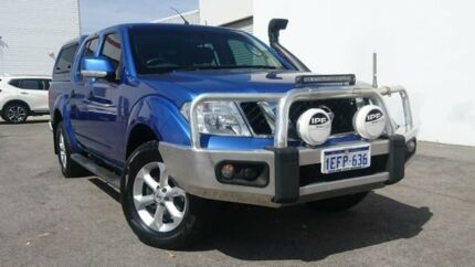 2013 Nissan Navara D40 S6 MY12 ST Blue 5 Speed Sports Automatic Utility Midvale Mundaring Area Preview