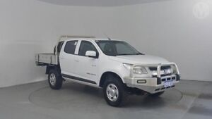 2013 Holden Colorado RG LX (4x4) Summit White 5 Speed Manual Crew C/Chas Perth Airport Belmont Area Preview