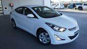 2014 Hyundai Elantra MD Series 2 (MD3) Active Creamy White 6 Speed Automatic Sedan Port Macquarie Port Macquarie City Preview