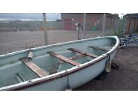 Fibreglass Sailing/Rowing Boat